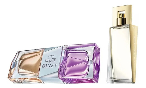 Perfumes Femininos Eve Duet + Attraction For Her