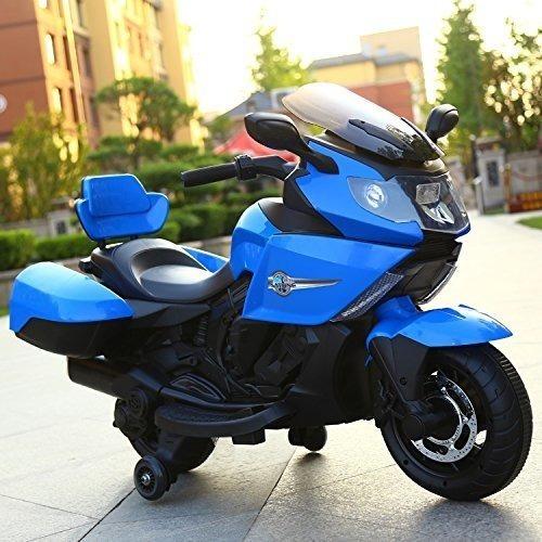 Moto A Bateria 12v Luz-sonido Tamaño Grande Acelerador Ba22