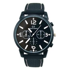 Reloj Moda Gt Hombres Grande Marcar Gel Silicona