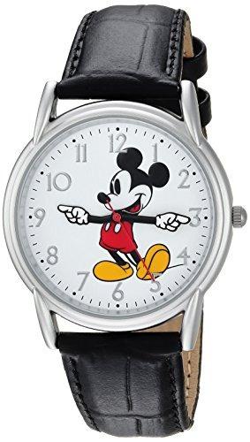 Disney Hombres S Mickey Ratón Analógico De Cuarzo Reloj Con