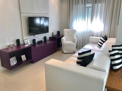 Apartamento Catalunha 118m² - Anália Franco - Mobiliado
