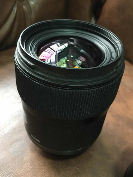 Lente Para Nikon, Modelo Sigma Art 35mm 1.4