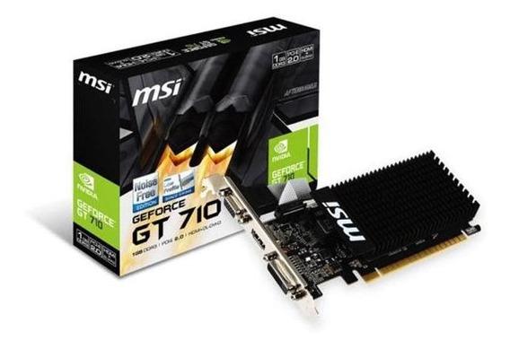 Placa De Vídeo Msi Geforce Gt 710 1gb Ddr3