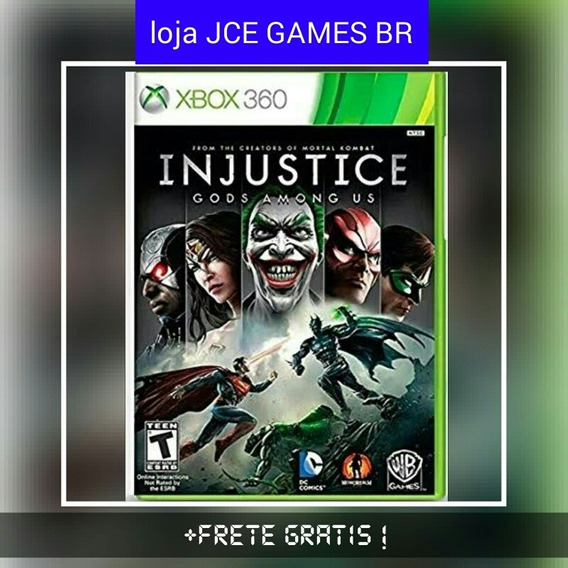 Injustice Gods Amongus, Midia Digital Xbox 360 !!