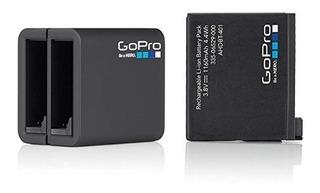 Kit Cargador Dual Mas Batería Repuesto Para Gopro Hero 4