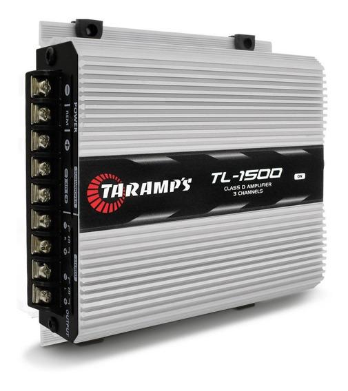 Módulo Taramps Tl1500 390w Rms 3 Canais Ideal Pra Caixa Trio