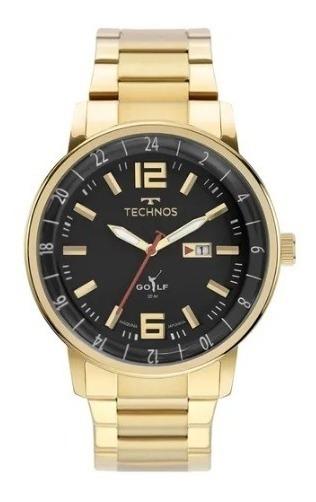 Relógio Technos Masculino Golf 2115mwd/1p Original Com Nota