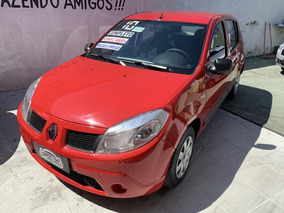 Sandero Authentique Hi-flex 1.6 8v 5p 2010 Completo !!