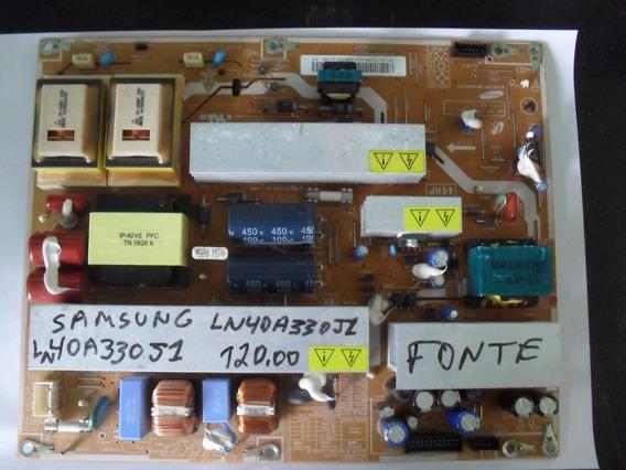 Placa Da Fonte Tv Samsung Ln40a330j1