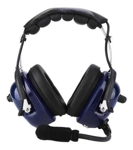 Imagen 1 de 7 de Aviation Headset Piloto Micrófono Ga Plug Reducción De Rui