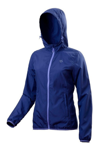 Rompeviento Doite Outdoor Air Jkt Impermeable Mujer Compacta