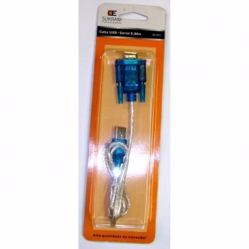 Cabo Conversor Usb P/ Serial Rs232