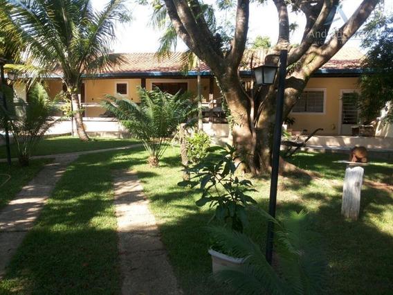 Chácara Com 2 Dormitórios À Venda, 1290 M² Por R$ 530.000 - Parque Residencial Floresta - Jaguariúna/sp - Ch0012