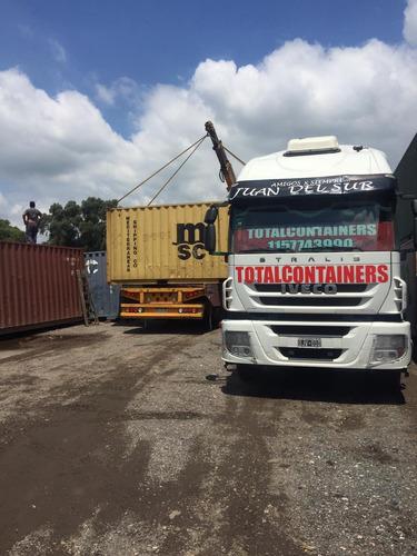 Contenedores Marítimos Containers/ Seco 20' Nac.
