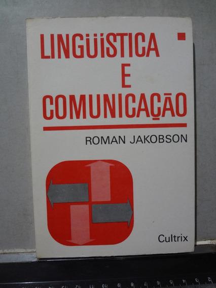 Livro Linguística E Comunicação Roman Jakobson
