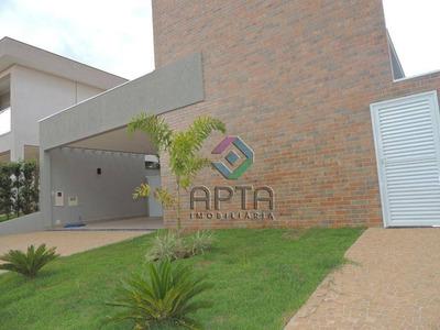 Casa Nova, Com 3 Suítes, Piscina, À Venda, 194 M² - Condomínio Buona Vita - Ribeirão Preto/sp - Ca0521