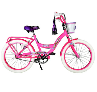 Bronx Bicicleta Nena Rodado 20 Full Lucecita 720750