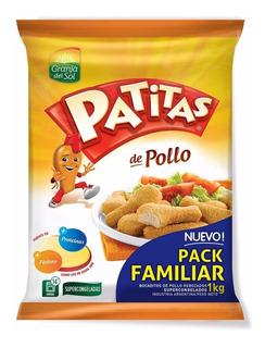 Patitas De Pollo Granja Del Sol Bolsa Familiar X 1.1 Kilo