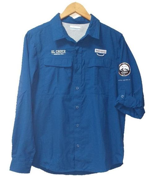 Camisa Columbia El Cruce Hombre Running