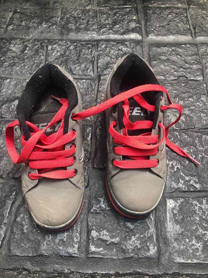 Heelys Originales Zapatillas Con Ruedas Talle 31 Excelentes