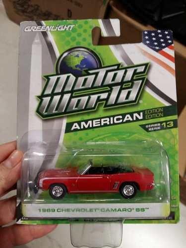 Greenlight - Motor World - 1969 Chevrolet Camaro Ss - 1:64