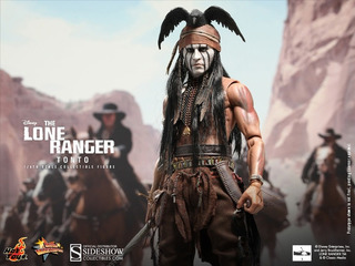 Tonto The Lone Ranger Hot Toys 1/6 Scale Johnny Depp Figura