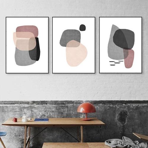 Cuadros Decorativos Con Marco-setx3 50x70 Sin Vidrio