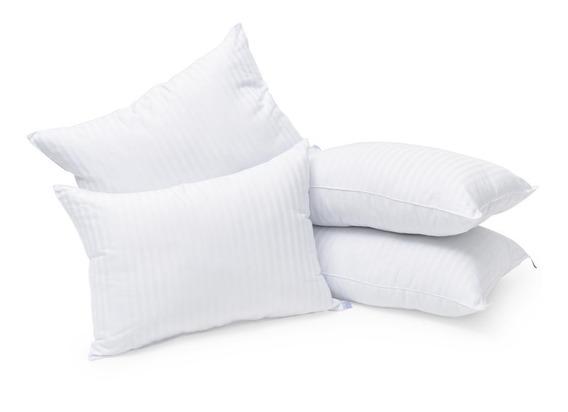 *4 + 3 = 7 Almohadas Microgel Hotelera Premium A 900grs C/u