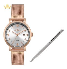 Relógio Technos Feminino 2115mpe/4k + Brinde Caneta Crown