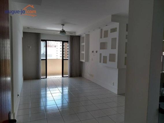 Apartamento Com 3 Dormitórios Para Alugar, 90 M² Por R$ 1.600/mês - Jardim Aquarius - São José Dos Campos/sp - Ap2938