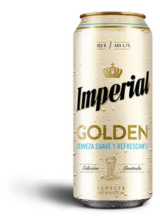 Lata Imperial Golden 473cc Pack X 24