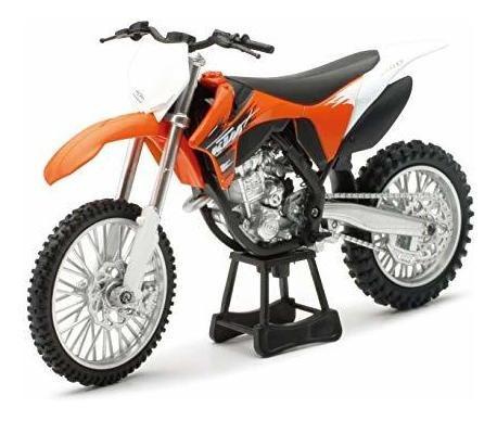 Imagen 1 de 2 de Modelo De Motocicleta Ktm 350 Sx-fgp11, Escala 1: 12, Baño