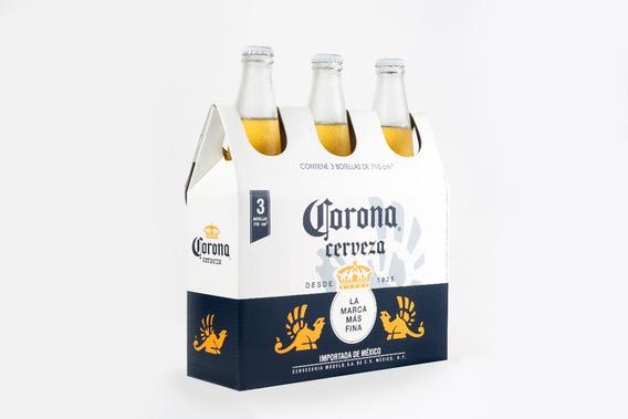 Cerveza Corona 710 Cc X 3 Unidades