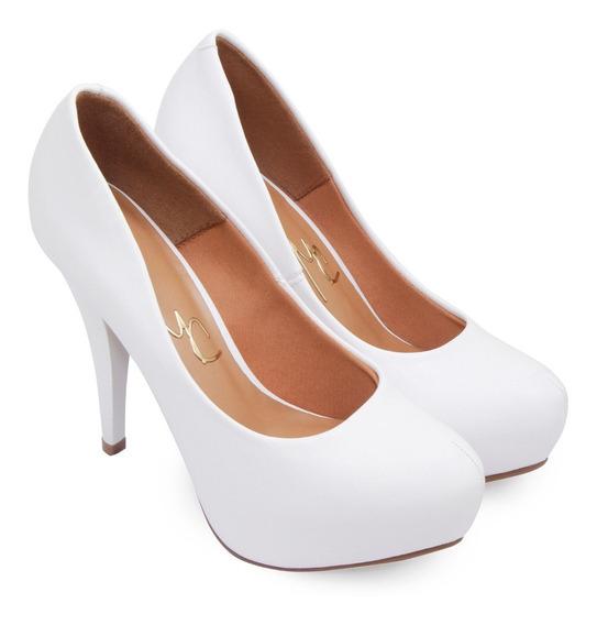 Zapatos Stiletto Mujer Massimo Chiesa Eco Cuero Fiesta