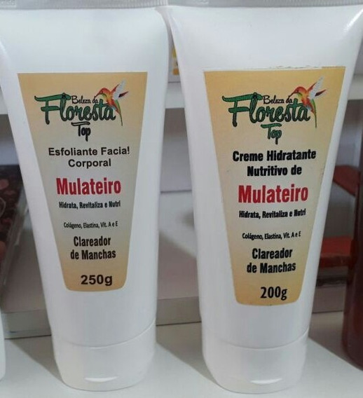 Kit Esfoliante E Hidratante Mulateiro