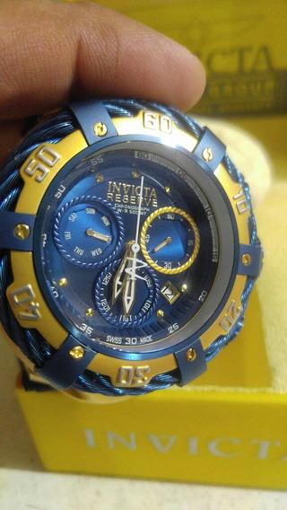 Reloj De Caballero Invicta Bolt Reserve Enorme