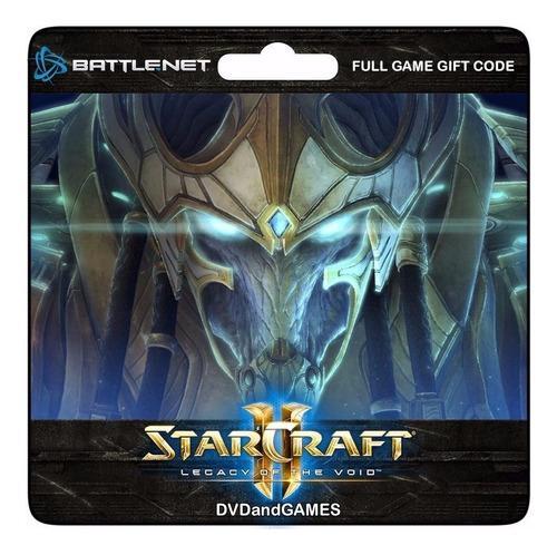 Starcraft 2 Legacy Of The Void Juego Pc Mac Original Español