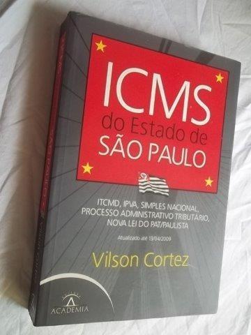 * Livro - Icms Do Estado De São Paulo - Administração