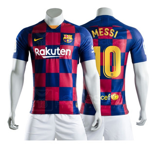 Camiseta Original Barcelona 2019-2020 Messi Version Jugador