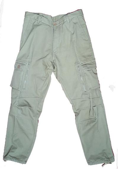 Pantalon Cargo Con Polar Interior - Talle 46 - Nuevo