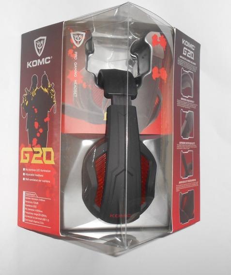 Diadema Auriculares Estéreo Para Juegos Komc G20 5.1