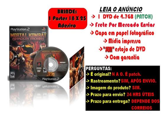 Mortal Kombat Shaolin Monks Para Ps2 + Brinde