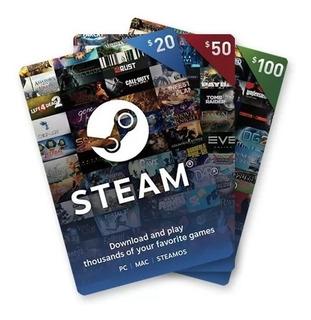 Tarjeta Regalo Steam 800 Pesos