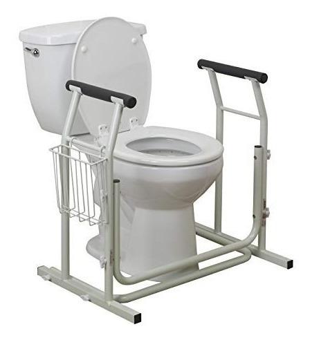 Barandal Soporte Para Inodoro Wc Seguridad Baño Barras