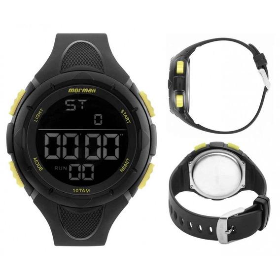 Relógio Mormaii Masculino Wave Preto Mom14810aa/8y Esportivo