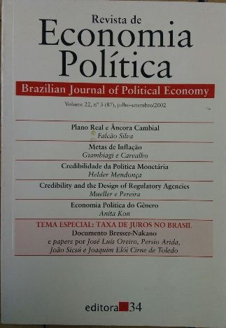 Revista De Economia Política Vol. 22 Nº3 Falcão Silva / Gia