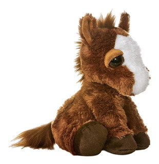 Pony De Peluche Aurora 10 In