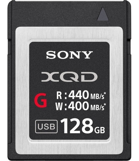 Memoria Xqd 128 Gb Sony - Serie G 440/400mb/s - Qd-g128e