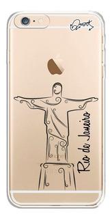 Capa Case Capinha iPhone 6 6s - Cristo Rio De Janeiro 2