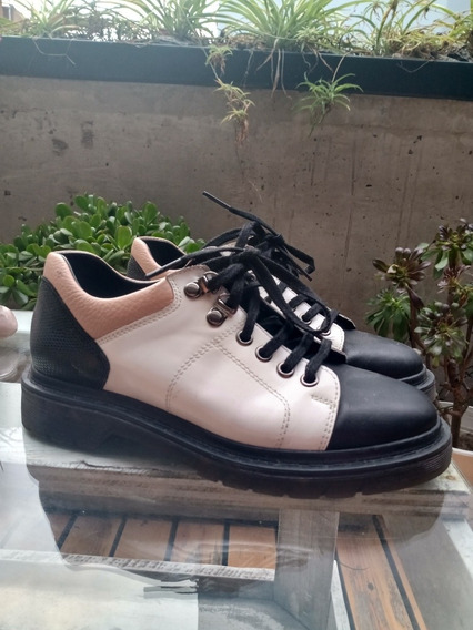 Zapatos De Cuero Casi Nuevos